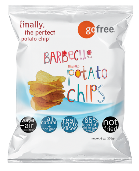 go free barbecue potato chips