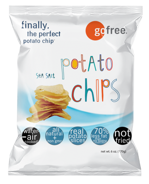 go free sea salt potato chips