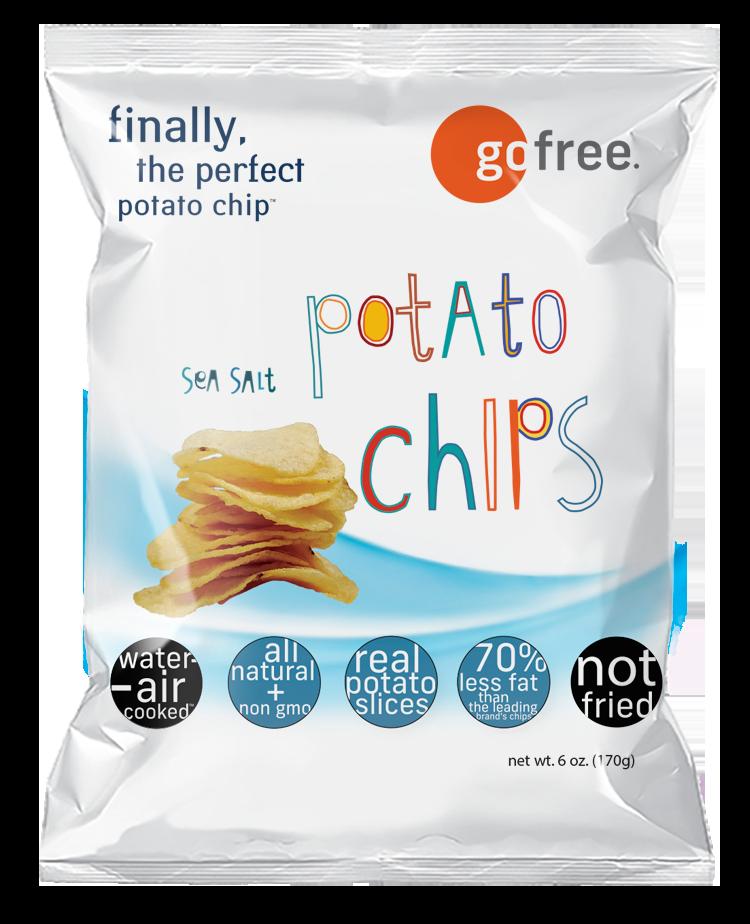 go free sea salt potato chips